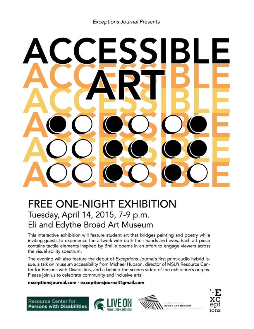 Accessible Art Event